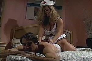 Hot Nurse Melanie Moore Pleasuring Her Patient