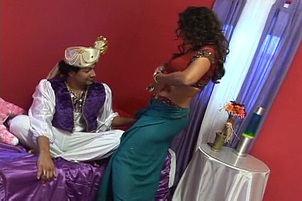 Sultry MILF Persia Performs A Sloppy Deepthroat Blow Job