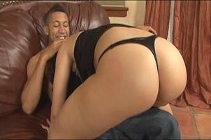 Long Legged Slut Ricki White Gets Black Meatpole Pummelling