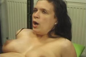 Hot Brunette Fucks Boyfriend In A Gymnasium