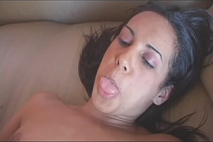 Victoria Allure Takes A Long Black Schlong