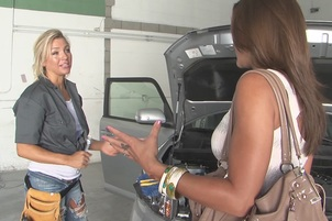 Olivia And Embry Enjoy Sex In The Garage