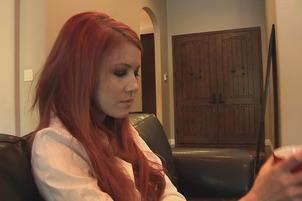 Redhead Elle Alexandra Has Lesbian Fun With Sovereign Sonya