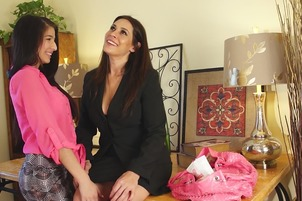 Raylene And Megan Plays With Each Others' Pussies