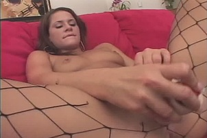 Savannah Stern Lays Back To Play With Her Pussy