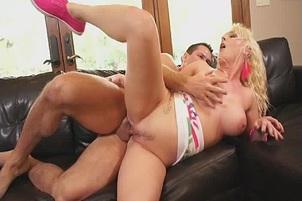 Blonde Big Tit Tristyn Kennedy Sucks And Fucks