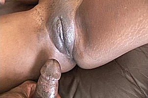 Coffee Brown Has Some Lexington Steele Jizz On Her Lips