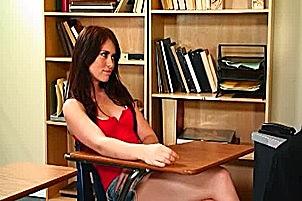 Gorgeous Ashlyn Rae Gets Doggy Styled On A Desk