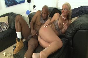 Blonde Milf Phoenix Marie Takes Black Dick